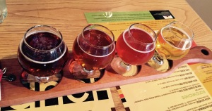 Enjoyed a flight of beer at Glenwood Canyon Brew Pub!
